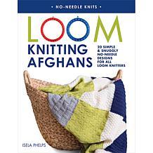 """""""Loom Knitting Afghans"""" Book by Isela Phelps"""