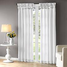 Madison Park Emilia White Window Curtain
