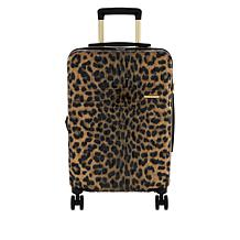 """Marcy McKenna Jet Setter 22"""" Quilted Hardside Wheeled Carry-On Luggage"""
