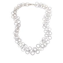 "MarlaWynne 47-1/8"" Matte Rolo-Link Chain Necklace"