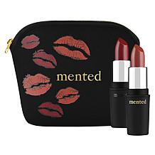 Mented Lipstick BOGO with Cosmetic Bag