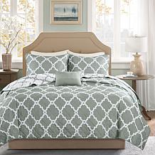 Madison Park Merritt 4-piece Coverlet Set - Gray