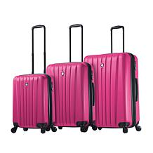 Mia Toro Italy Magari 3pc Spinner Luggage