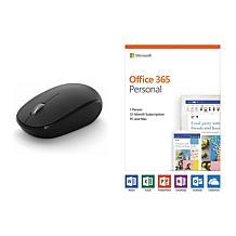 Microsoft Office 365 & Bluetooth Mouse Bundle