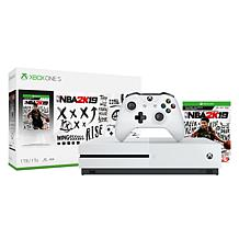 "Microsoft Xbox One S 1TB Console with ""NBA 2K19"""