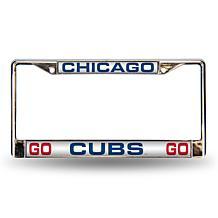 MLB Phrase Laser-Cut Frame - Cubs