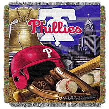 MLB Home Field Advantage Tapestry Throw - Phillies