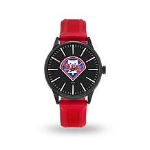 "MLB Sparo Team Logo ""Cheer"" Strap Watch - Phillies"