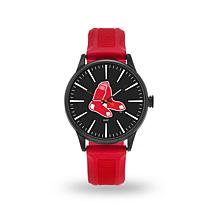 "MLB Sparo Team Logo ""Cheer"" Strap Watch - Red"