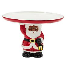 "Mr. Christmas Battery-Operated Cake Stand with 10"" Plate"