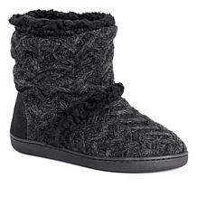 MUK LUKS Holly Knit Slipper Boot