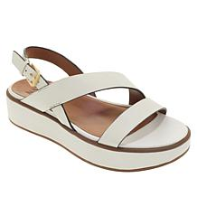 Naturalizer Charlize Leather Platform Sandal