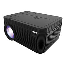 """Naxa 150"""" Home Theater 720p LCD Projector with Built-In DVD Player"""