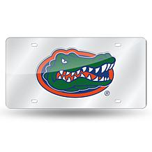 NCAA Laser Tag Silver License Plate - Florida