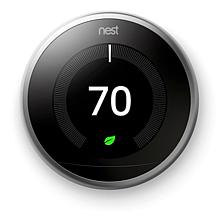 Nest Learning Thermostat w/Away Mode and Remote Control