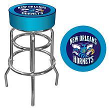 New Orleans Hornets NBA Padded Swivel Bar Stool
