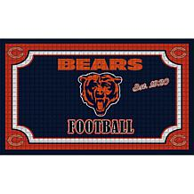 NFL Embossed Door Mat - Bears
