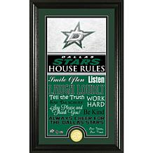NHL House Rules Supreme Bronze Coin Photo Mint - Dallas Stars