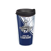 NHL Tampa Bay Lightning 2020 Stanley Cup Champions 16 oz Tumbler wi...