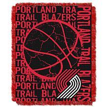 NorthwestCompany OfficiallyLicensed NBA Double Play Throw Trailblazers