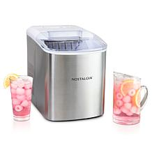 Nostalgia Stainless Steel Ice Cube Maker