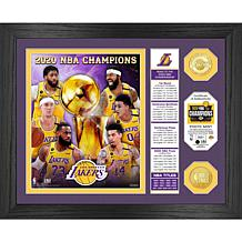 Officially Licensed 2020 NBA Champs Banner Coin Photo Mint - Lakers
