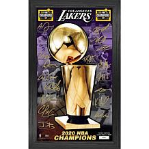 Officially Licensed 2020 NBA Finals Champions Signature Trophy- Lakers