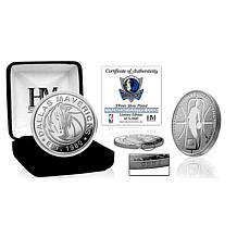 Officially Licensed Dallas Mavericks Silver Mint Coin