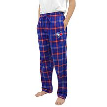 Officially Licensed Men's Flannel Pant by Concepts Sport - Blue Jays