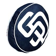 """Officially Licensed MLB 148 Travel Cloud 15"""" Pillow - Padres"""