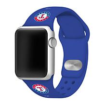 Officially Licensed MLB Apple Watchband 38/40mm - Texas Rangers