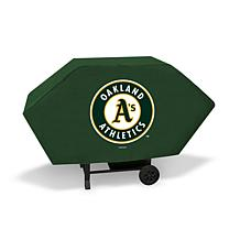 Officially Licensed MLB Executive Grill Cover - Athletics