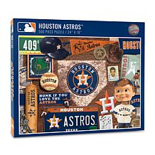 Officially Licensed MLB Houston Astros Retro Series 500-Piece Puzzle