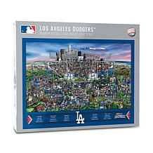 Officially Licensed MLB Joe Journeyman Puzzle - Los Angeles Dodgers