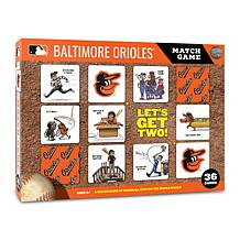 Officially Licensed MLB Licensed Memory Match Game - Baltimore Orioles