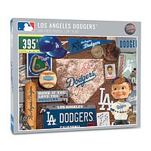 Officially Licensed MLB Los Angeles Dodgers Retro 500-Piece Puzzle