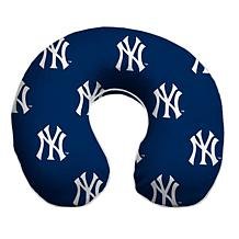 Officially Licensed MLB Memory Foam Travel Pillow