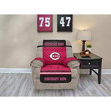 Officially Licensed MLB  Recliner Furniture Protector - Reds