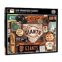 Officially Licensed MLB San Francisco Giants Retro 500-Piece Puzzle