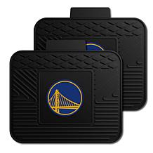 Officially Licensed NBA 2-Piece Utility Mat Set-Golden State Warriors
