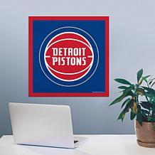 "Officially Licensed NBA 23"" Felt Wall Banner - Detroit"