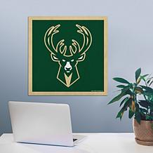 "Officially Licensed NBA 23"" Felt Wall Banner - Milwaukee"