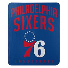"Officially Licensed NBA 50"" x 60"" Layup Fleece - 76ers"