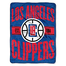 Officially Licensed NBA Clear Out Micro Raschel Throw Blanket-Clipp...