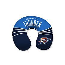 Officially Licensed NBA Memory Foam U-Neck Travel Pillow - Thunder