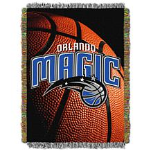 """Officially Licensed NBA """"Photo Real"""" Woven Tapestry Throw - Magic"""