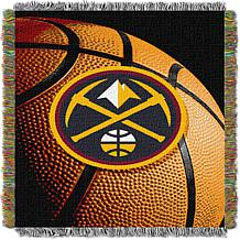 """Officially Licensed NBA """"Photo Real"""" Woven Tapestry Throw - Nuggets"""