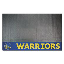 Officially Licensed NBA Vinyl Grill Mat  - Golden State Warriors