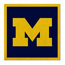 """Officially Licensed NCAA 23"""" Felt Wall Banner - Michigan Wolverines"""