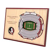 Officially-Licensed NCAA 3-D StadiumViews Display - FL State Semino...